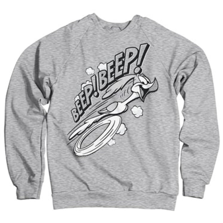 Officially Licensed Inked Looney Tunes - BEEP BEEP Sweatshirt (Heather Grey)