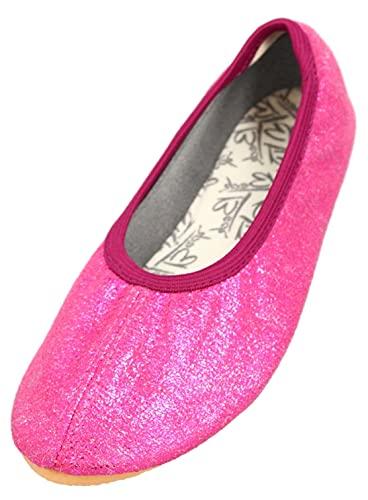 Beck Basic, Zapatillas de Gimnasia Niñas, Rosa (Pink 06), 33 EU