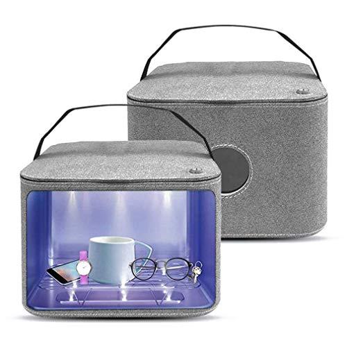 NoNo UVC Steri-lizer Box Desinfektio-Tion-Beutel, beweglicher UV-Reiniger Sanitizer Beutel für Unterwäsche, Flasche, Zahnbürste, Schönheit Werkzeuge und Schmuck, 9 UVC Beads