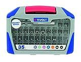 Tivoly 11501572001 Coffret embouts sécurité 35pcs