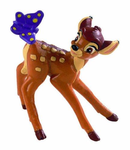 Bullyland 12420 - Spielfigur, Walt Disney Bambi, ca. 5,5 cm groß, liebevoll handbemalte Figur, PVC-frei, tolles Geschenk für Jungen und Mädchen zum fantasievollen Spielen