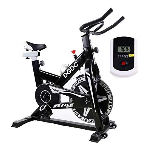 WXHHH Velocidad Resistencia Bicicleta Estática, Inicio Deportes Trainer Ciclo De La Bici, Correa De Transmisión para Bicicleta con Manillar Ajustable Indoor Cycling