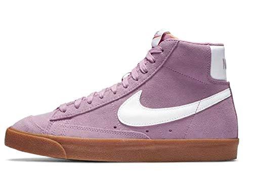 Nike Blazer Mid '77, Zapatillas de Gimnasio Mujer, Beyond Pink White Gum...
