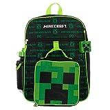 Kids Minecraft Backpack 5-Piece Combo School Supplies
