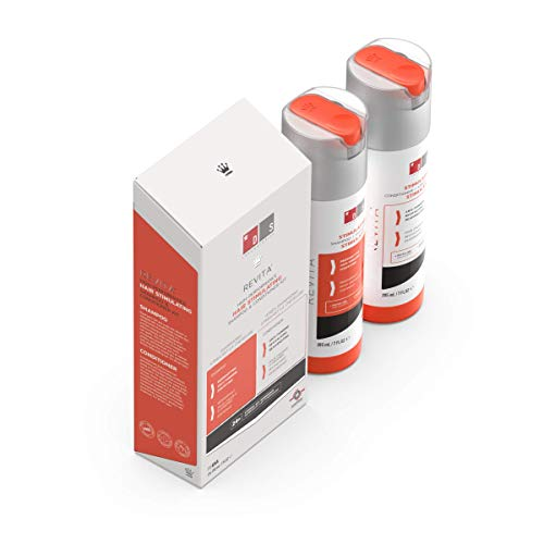 DS Laboratories Pack Revita champú 205ml y Revita acondicionador 205ml . Estimulantes del crecimiento del cabello