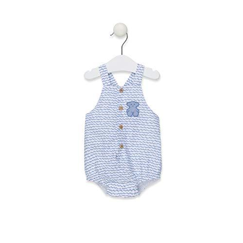 TOUS BABY - Ranita Azul para tu Bebé. Estampado Blue (1 Mes - 2 Años)