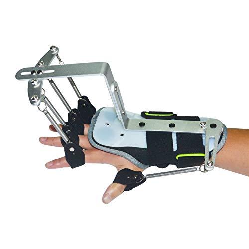 Ejercitador Ortopédico de Muñeca de Dedo, Manos Entrenamiento Fisioterapia Rehabilitación Dinámico Apoyo De La Muñeca Brace para El Paciente De Hemiplegia
