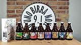 BOX DEGUSTAZIONE GIRO DEL MONDO IN 8 BIRRE - Giro del mondo in 8 birre artigianali da 33 cl .