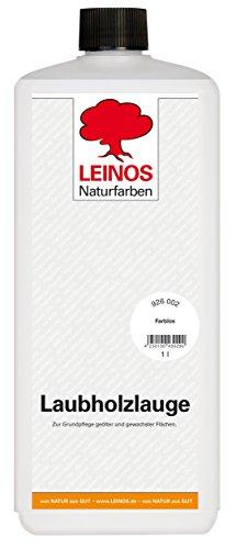 Leinos 926 Laubholzlauge 1,00 l Farblos