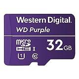 Western Digital microSD 32GB WD Purple 監視カメラ SDHC UHS-1 WDD032G1P0A【国内正規代理店品】