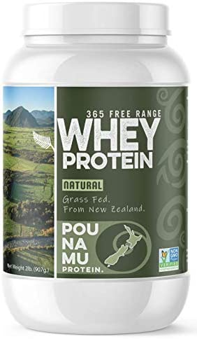 Pounamu Protein Natural Grass Fed Whey Protein 365 Free Range Non GMO Project Verified Sourced product image