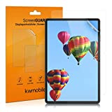 kwmobile 2X Folie kompatibel mit Samsung Galaxy Tab S7 - Full Screen Tablet Schutzfolie klar
