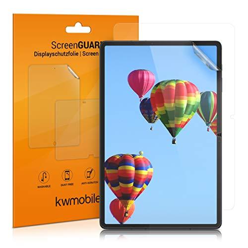 kwmobile 2X Pellicola Compatibile con Samsung Galaxy Tab S7 - Set pellicole Pellicola Display Protezione Schermo - Senza Bolle d'Aria