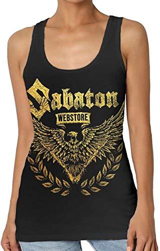 Kilson Vintage Sabaton Tank Womens Workout Sport Yoga Sleeveless Garment Tops