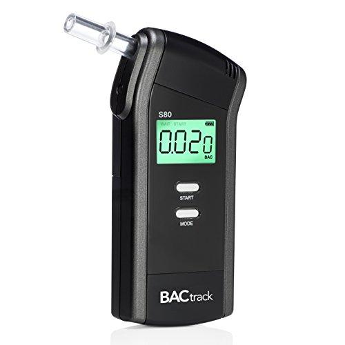 BACtrack Alcoholímetro S80 | Precisión de grado profesional | Aprobado por DOT y NHTSA | FDA 510 (k) aprobado | Probador de alcohol portátil para uso personal y profesional