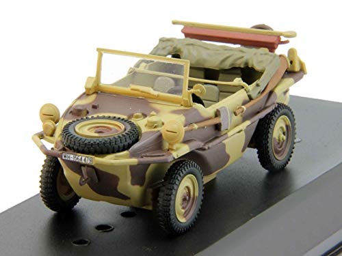 166 Schwimmwagen 1945 Year German Swimming Car 1/43 Collectible Model Vehicle Mass-Produced Amphibious Car by Volkswagen