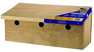 Sparrow Colony Premium Nest Box FSC by Gardman Bird Care