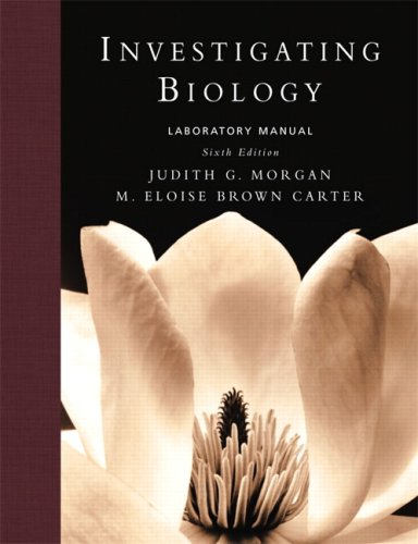 Investigating Biology Lab Manual (6th Edition)
