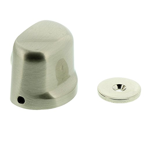 Burg-Wächter TBM Magnet-Türstopper TWM 2430 Ni SB, Edelstahl-Optik, Inkl. Befestigungsmaterial