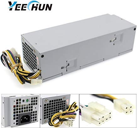 YEECHUN 240W Replacement Power Supply for Dell Optiplex 3040 3650 3656 5040 7040 (SFF) B240NM-00 HU240AM-00 AC240EM-00 P/N: THRJK 4GTN5 4R1KT D7GX8 HGRMH 2P1RD H62JR 3RK5T 6WX7D 0M1C3 J1J77 20WFG RWMN