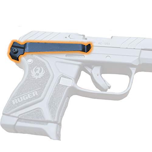 Clipdraw Concealed Gun Belt Clip for Ruger LCP Black (LCP 2)