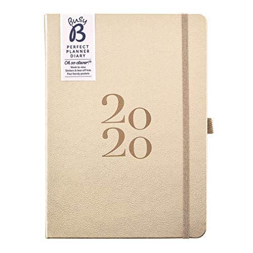 Hard backed Printed with Elastic design Tallon WOW 2019 A5 Diary Week to View