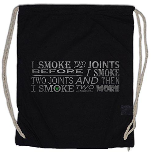 Urban Backwoods Smoke Two 2 Joints Turnbeutel Sporttasche