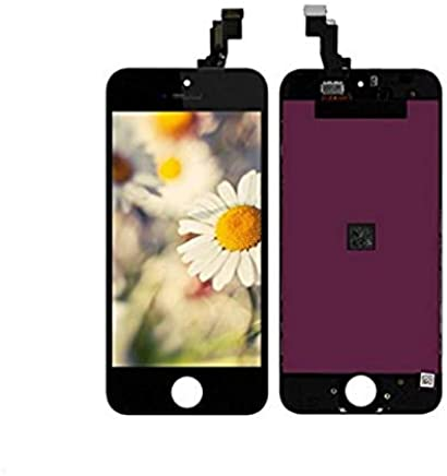 Ecom Hub™ LCD Display + Touch Screen Digitizer Assembly for Apple iPhone 5S : Black
