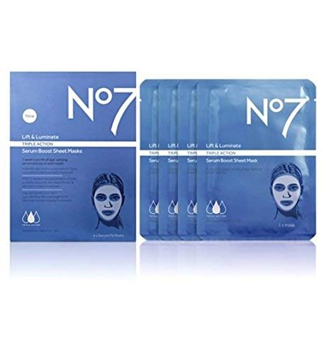 No7 - Siero a tripla azione Lift & Luminate Triple Action, Maschera viso
