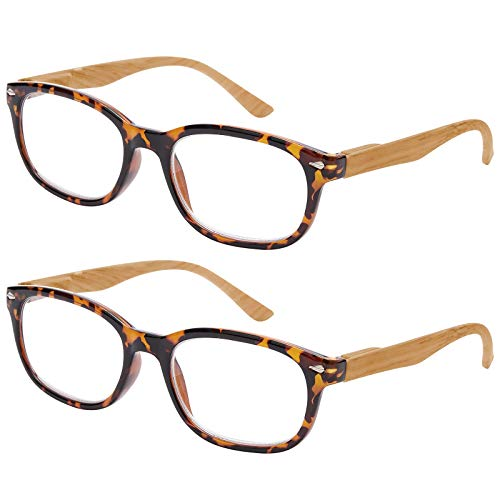 EFE Reading Glasses 2 Pack - Mens Womens Funky Computer Book Phone Reading...