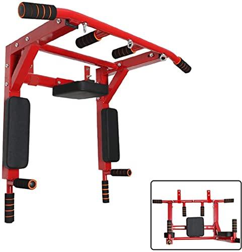 Ajustable Multi-Grip Pull Up Barra de la Barra Interior Pull-Up Equipo de Pared Colgando WiHT 6 Manijas Antideslizantes Extremadamente Estable para los Ejercicios de Deportes para el hogar Fitnes