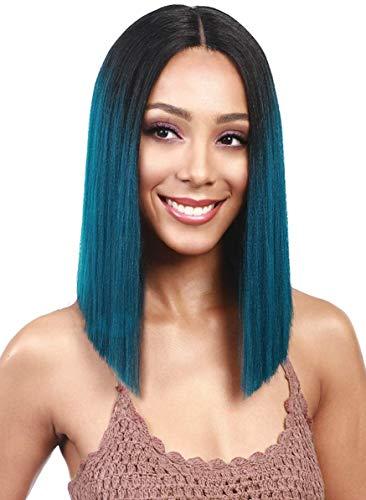 Bobbi Boss MLF136 Yara Lace Front Wig Color 1B (1B)