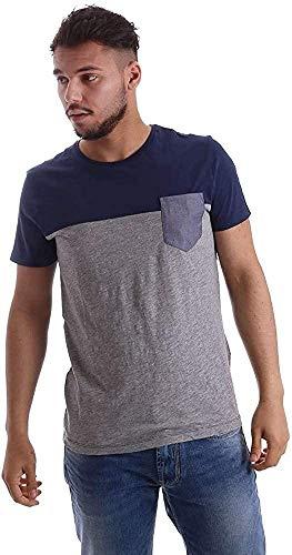 Gas Jeans Daiki T-Shirt, Blu (Blue Tint), XX-Large (Taglia Produttore:XXL) Uomo