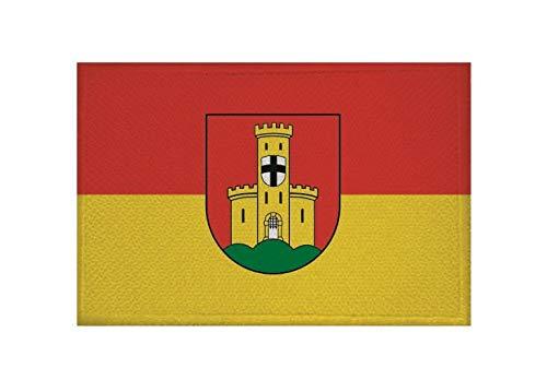 U24 Aufnäher Bonn- Bad Godesberg Fahne Flagge Aufbügler Patch 9 x 6 cm