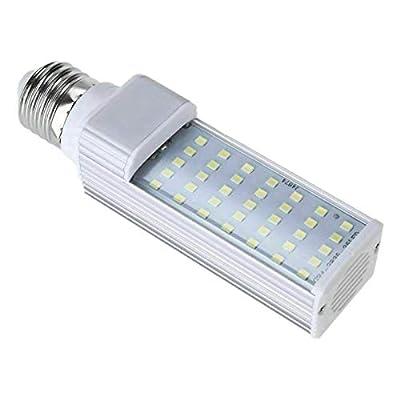 Noblik Fishpod White Plant Aquarium 7W Grow Light LED Tank Fish Coral Bulb E27 Lamp