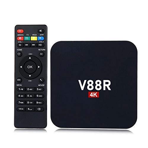 AUSHA® V88R 4K Android 10.0 Android TV Box Box 4GB RAM 32GB ROM RK3318 Quad-Core with Dual WiFi 5G