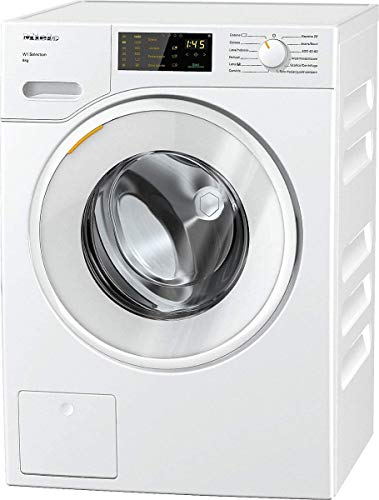 Miele WSD 123 WCS, Lavatrice Standard, A+++ -10%, 50 dB, 1400 rpm, Carico Frontale, 8 kg, Bianco