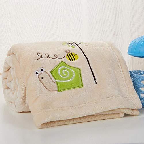 Eastery Worth Having Kaki slak patroon babydeken quilt polyester materiaal winter eenvoudige stijl kleuterschool voor baby design (100 * 150 cm)