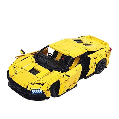 FFCVTDXIA 2683 stücke Baustein Rezvani Biest Alpha Super Auto, Technik Super Racing RC Car Kit, Modellbausteine kompatibel mit, Ziegeln Spielzeug für Erwachsene oder Kind, statische Version zhihao