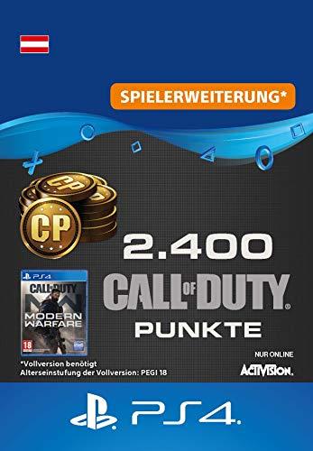Call of Duty: Modern Warfare-Punkte 2400 Points | PS4 Download Code - österreichisches Konto