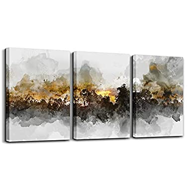 Wall Art For Living room Black and white abstract painting bathroom Wall Decor for bedroom artwork Painting 12  x 16  3 Pieces Canvas Prints Decor Modern Salon kitchen office Home decorations picture