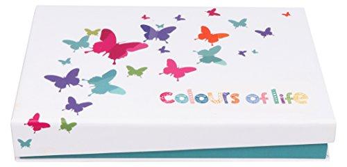 KnitPro Colours of Life Box Austauschbare Rundstricknadeln, Holz, Symphonie, 27 x 18 x 5 cm