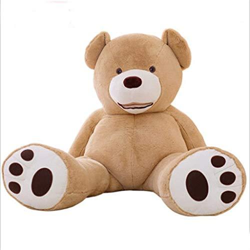 CLINGE Stuffed Animal Wholesale Teddy Bear Huge 93inch American Giant Bear Skin Teddy Bear Coat Factary Price Soft Toys for Girls 80-340-Ivory-260cm