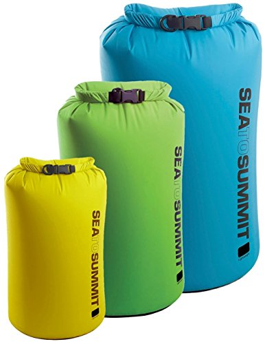 Sea To Summit Lightweight Dry Sack Blue/Green/Red