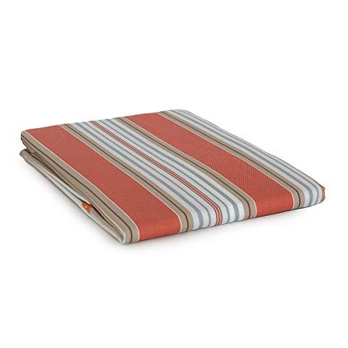 Tenda Da Sole Con Anelli Per Esterno Art. Stromboli - Dimensioni Varie U221 145X290 Cm Arancione