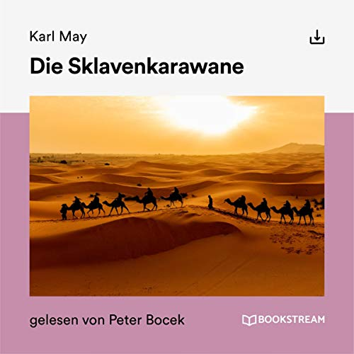 Die Sklavenkarawane audiobook cover art