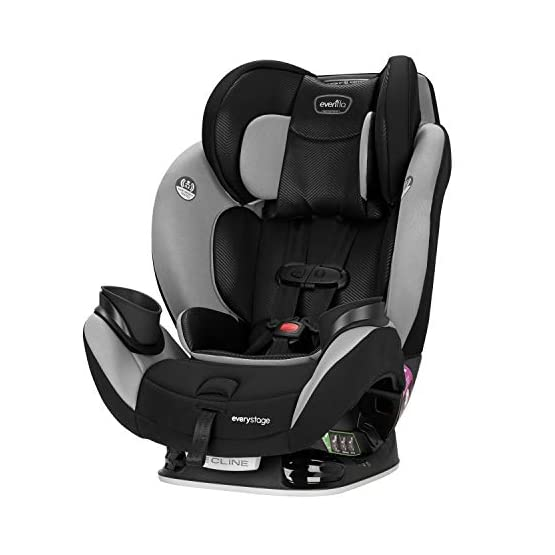 Evenflo EveryStage LX All-in-One Car Seat, Convertible Baby Seat, Convertible & Booster Seat, Grows with Child Up to 120…