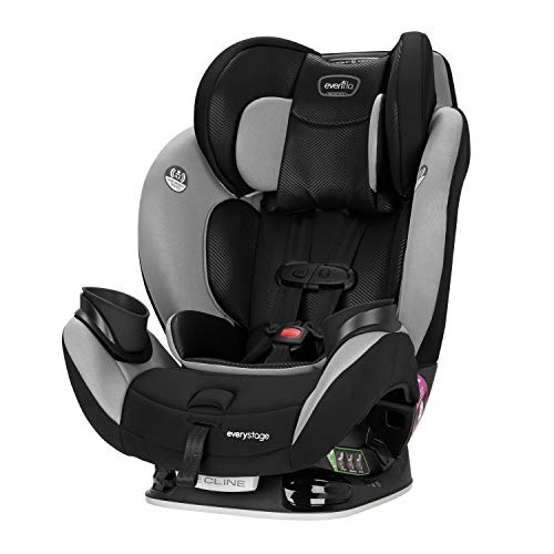 Evenflo EveryStage LX All-in-One Car Seat, Convertible Baby Seat,...