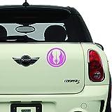 Star Wars Jedi Order Pink SCI-FI/Comics/Games Automotive Decal/Bumper Sticker
