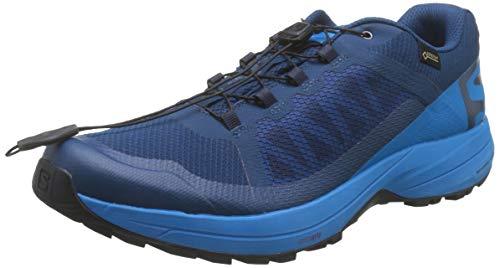Salomon Herren Xa Elevate GTX Traillaufschuhe, Blau (Poseidon/Hawaiian Surf/Black 000), 45 1/3 EU